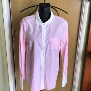 J Crew long sleeve shirt s 8 Euc